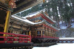 Taiyu-in Temple, part of Rinnouji Temple Royalty Free Stock Image
