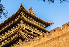 The Taiyuan city landmark building- Small North Gate Stock Photos