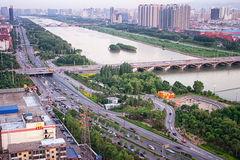 Taiyuan City Royalty Free Stock Photo