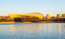 Taiyuan culture new landmark-Shanxi Great theater Royalty Free Stock Photography