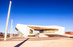 Taiyuan culture new landmark-Shanxi Great theater Stock Image