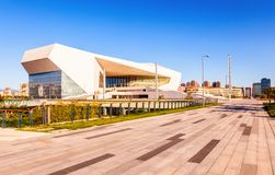Taiyuan culture new landmark-Shanxi Great theater Stock Images