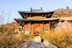 Taiyuan scene-Iron Buddha Hall of Kaihuo temple Royalty Free Stock Images