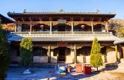 Taiyuan scene-Kaihuo temple hall Royalty Free Stock Image