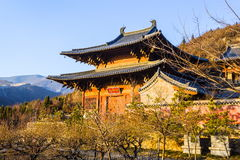 Taiyuan scene-Kaihuo temple Stock Photos