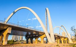 Taiyuan scene-North middle ring way bridge Stock Images