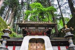 Taiyuinbyo - het Mausoleum van Sjogoen Tokugawa Iemitsu, in Nikko royalty-vrije stock afbeelding