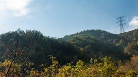Taizhou jesieni sceneria obrazy royalty free