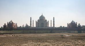 Taj马哈德在阿格拉,印度 库存照片