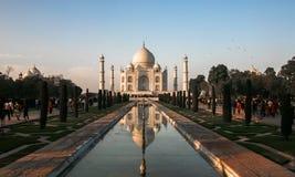 Taj马哈德在阿格拉,印度 免版税图库摄影