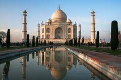 Taj马哈德在阿格拉,印度 免版税库存图片