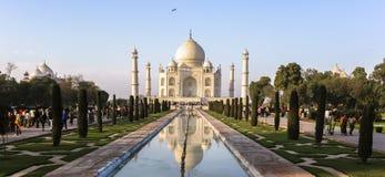 Taj马哈德在阿格拉,印度 免版税库存照片