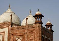 taj Индии зданий mahal одно бортовое стоковое изображение