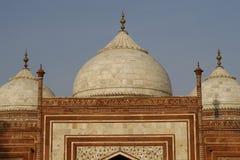 taj Индии здания mahal бортовое стоковое изображение rf