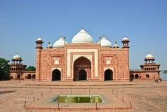 taj мечети Индии mahal Стоковое Изображение