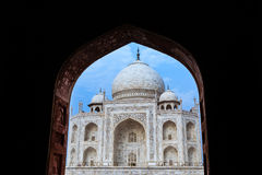 Taj Archway Stock Photo