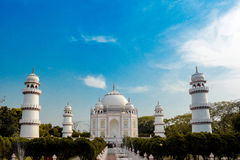 Taj from Bangladesh. This is the photo of tajmahal located in Narayanganj the city of Bangladesh stock image