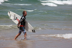 Taj Burrows -澳大利亚公开赛男子气概的澳洲 库存图片