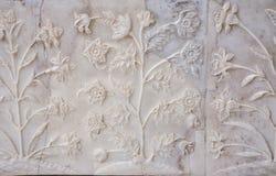 Taj Einlegearbeit Stockbilder