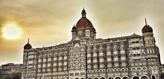 Taj Hotel lizenzfreie stockbilder