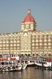 Taj Hotel, Bombay. Famous waterfront hotel in Bombay Stock Image