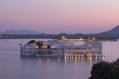 Taj Lake Palace alla città di Udaipur, India Fotografia Stock
