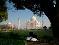The Taj Is For Lovers Stock Photography