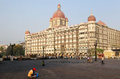 Taj Machal hotel in Mumbai Stock Photography