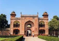 Taj Mahad a Agra, India Fotografie Stock Libere da Diritti