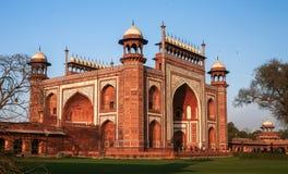 Taj Mahad en Agra, la India Imágenes de archivo libres de regalías