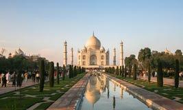 Taj Mahad en Agra, la India Fotos de archivo libres de regalías