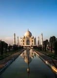 Taj Mahad en Agra, la India Imagen de archivo libre de regalías