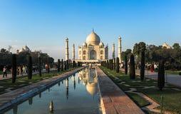 Taj Mahad w Agra, India Zdjęcia Stock