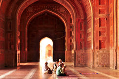 Taj Mahal�India Stock Photography