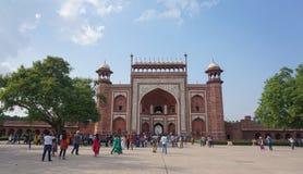 Taj Mahal在阿格拉,印度 免版税库存图片