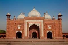 Taj Mahal清真寺,印度,阿格拉 免版税库存照片