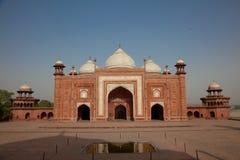 Taj Mahal清真寺,印度,阿格拉 图库摄影