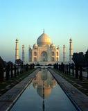 Taj Mahal,阿格拉,印度。 免版税图库摄影