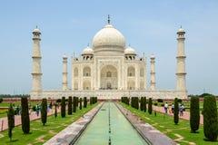 Taj Mahal à Agra image stock