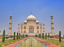 Taj Mahal, Âgrâ, Inde Photos libres de droits