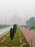 Taj Mahal, Ινδία Στοκ Φωτογραφίες