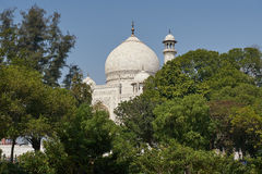 Taj Mahal Ινδία, Agra ο κόσμος 7 αναρωτιέται Όμορφο Tajmahal trave Στοκ φωτογραφία με δικαίωμα ελεύθερης χρήσης