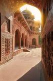 Taj Mahal Ινδία, Agra ο κόσμος 7 αναρωτιέται Όμορφο Tajmahal trave Στοκ Φωτογραφία