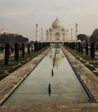 Taj Mahal μια γκρίζα ημέρα Στοκ Φωτογραφίες