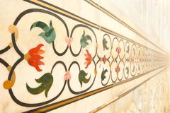 Taj Mahal που ενθέτεται στοκ φωτογραφία με δικαίωμα ελεύθερης χρήσης