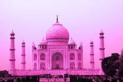 Taj Mahal στο ροζ, Agra, Ουτάρ Πραντές, Ινδία Στοκ φωτογραφία με δικαίωμα ελεύθερης χρήσης