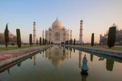 Taj Mahal στο φως ανατολής, Στοκ Φωτογραφία
