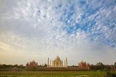 Taj Mahal στο φως ανατολής, Στοκ Εικόνα
