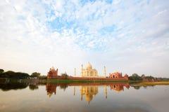 Taj Mahal στο φως ανατολής, Στοκ Εικόνες