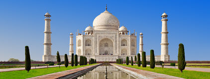 Taj Mahal, Агра Стоковые Фотографии RF
